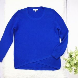 Madewell Blue Knit Crew Neck Sweater Medium